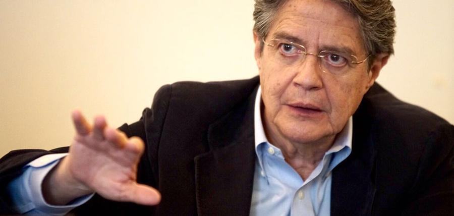 Lasso pide a Comisión  de Justicia que investigue al presidente saliente