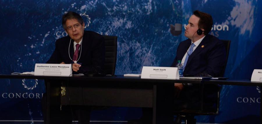 Lasso: En Ecuador el correismo ha perdido credibilidad