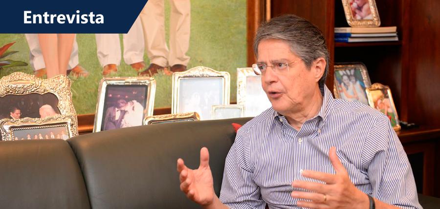 Guillermo Lasso: 'No hay confianza en que el dinero vaya a reconstrucción'