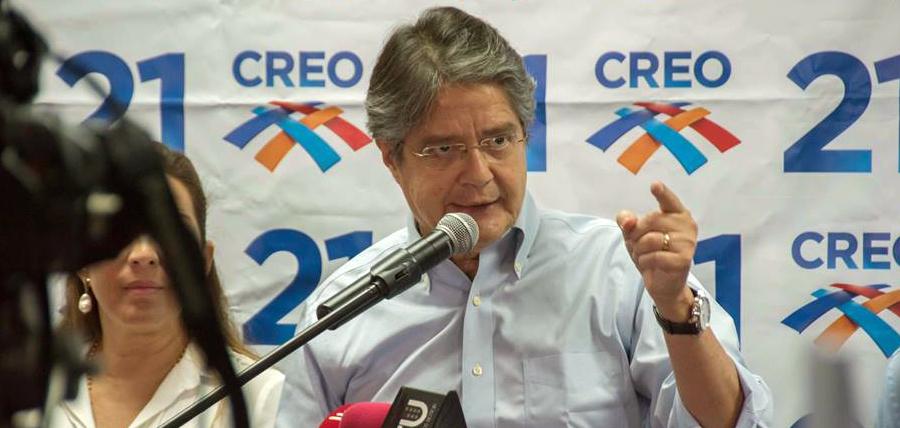 Guillermo Lasso: El dinero electrónico es un intento para financiar al Estado obeso