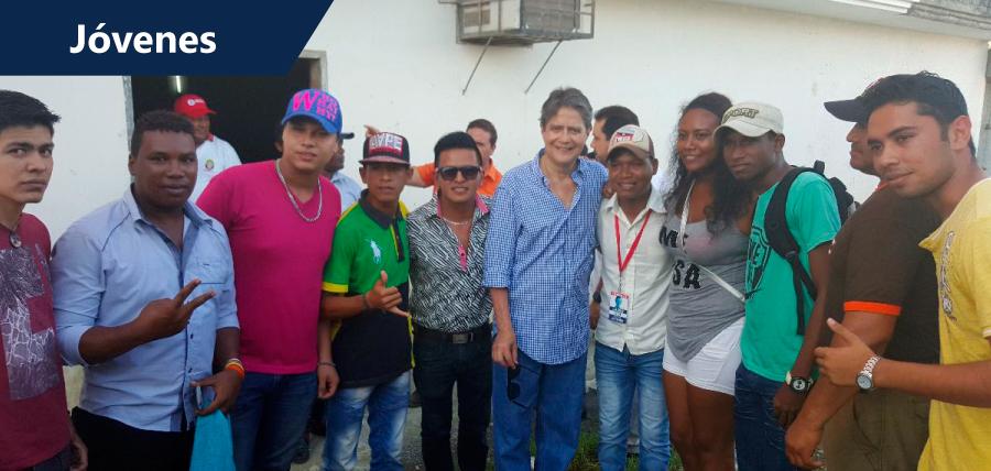 Jóvenes CREO solidarios frente a terremoto