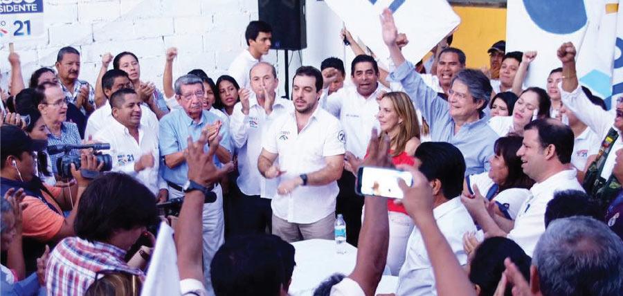 Guillermo Lasso posesionó a 21 directivas en Daule y Durán