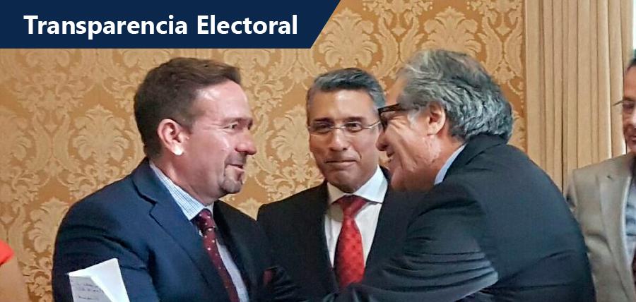 Partidos y Movimientos Políticos del Acuerdo Nacional piden tres acciones puntuales de la OEA en Ecuador