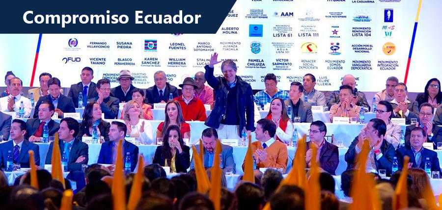Compromiso Ecuador sumó 100 actores unidos por el Cambio Nacional