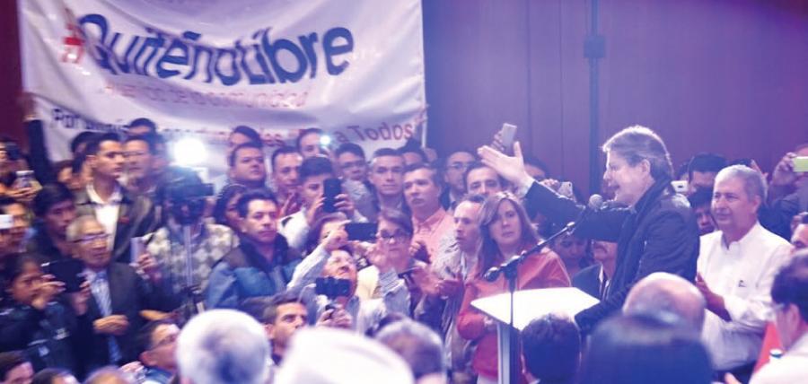 La Unidad crece en Compromiso Ecuador