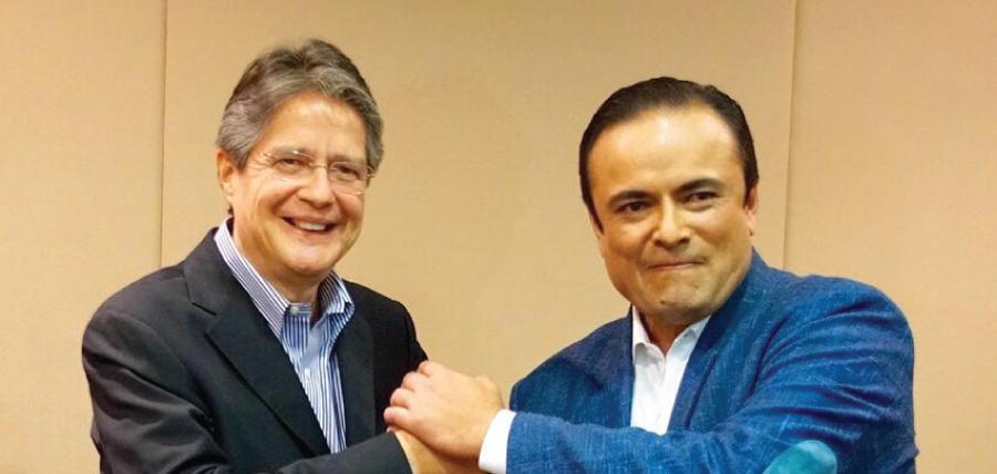 Guillermo Lasso y Paul Carrasco profundizan diálogo político