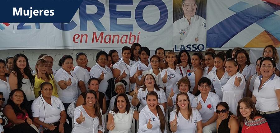 Manabí cuenta con directivas cantonales de Mujeres