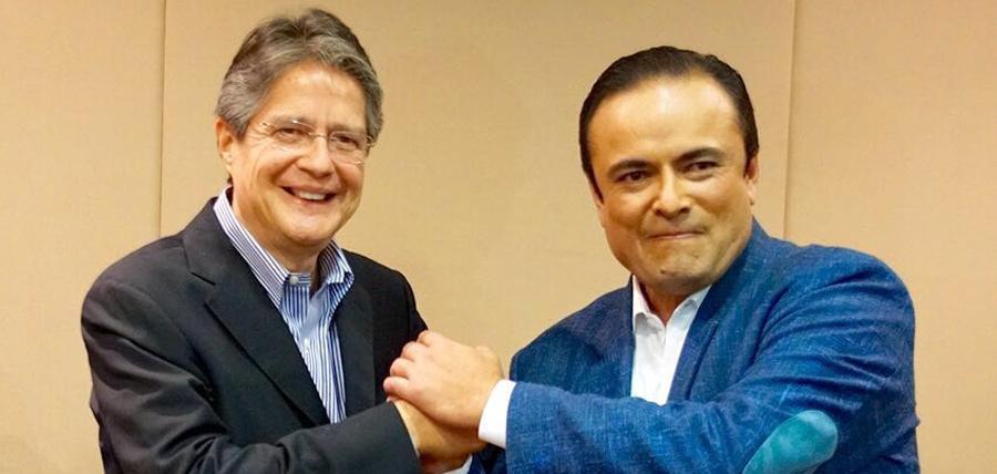 Guillermo Lasso y Paul Carrasco profundizan dialogo politico