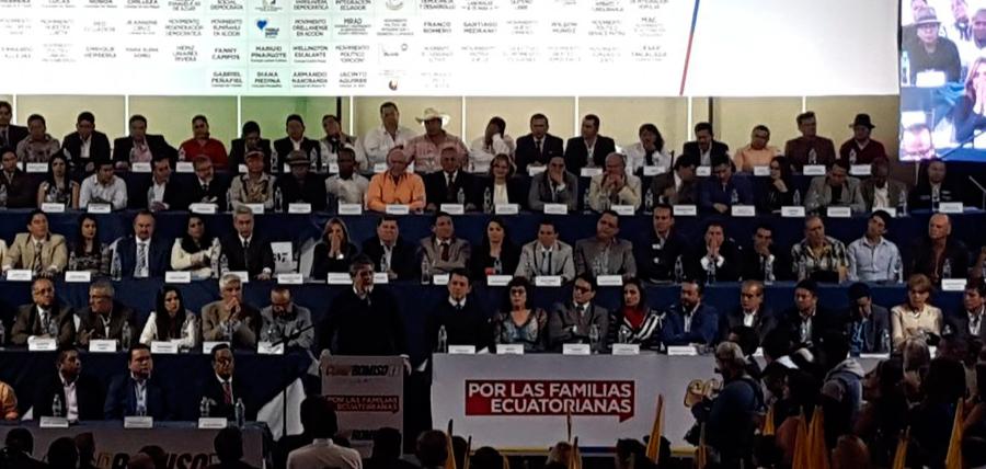 Compromiso Ecuador recibió nuevos miembros y suma 134 actores y movimientos por el cambio nacional
