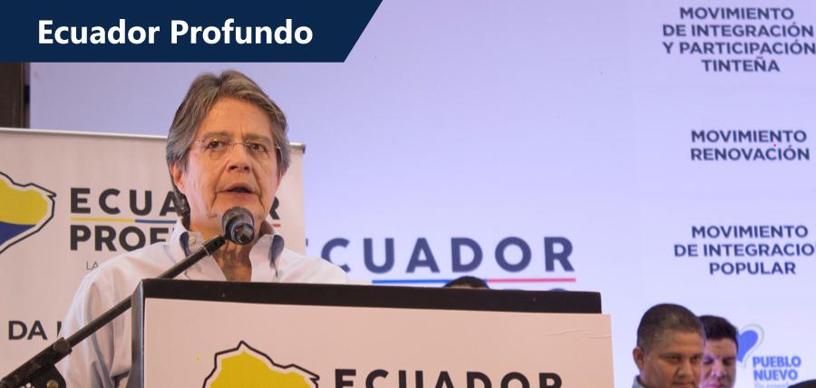 24 Movimientos Políticos y  Guillermo Lasso se unen en la Iniciativa Ecuador Profundo
