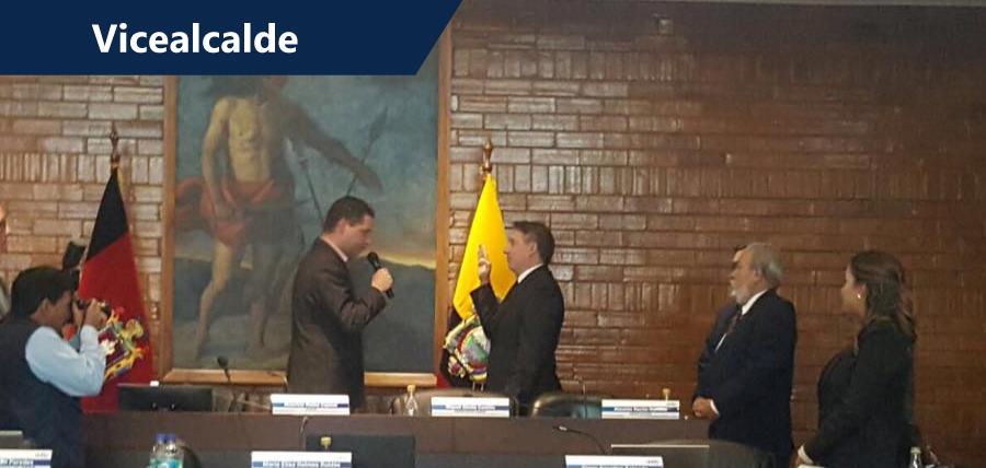 CREO capta vicealcaldía de Quito