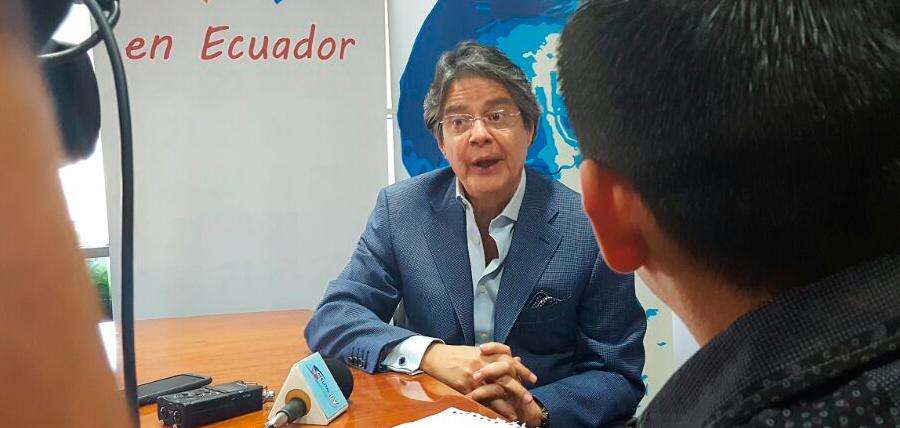 Guillermo Lasso y Salvador Quishpe profundizan diálogo político