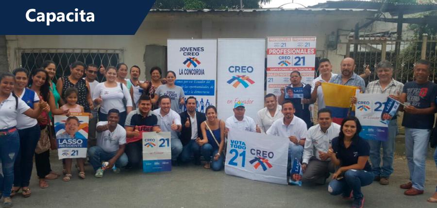 CREO cuenta con directiva capacitada en formación política