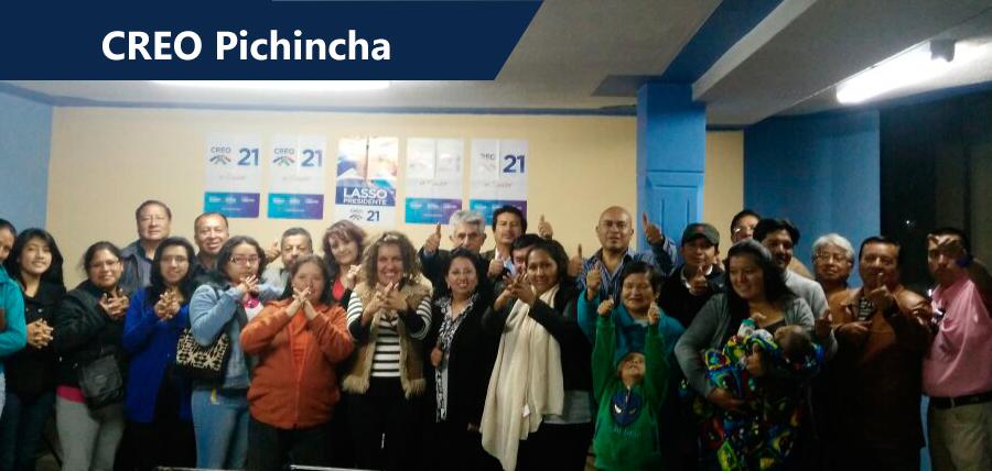 Pichincha se fortalece en las parroquias