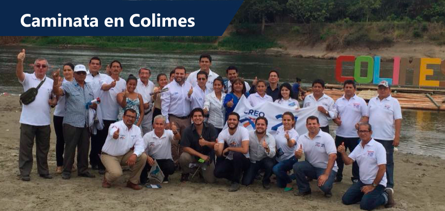 CREO Guayas realizó caminata en Colimes