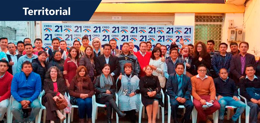 CREO Tungurahua recibió taller de Capacitación Electoral