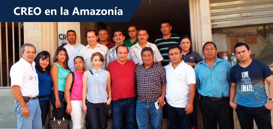 CREO fortalece su estructura en la amazonía