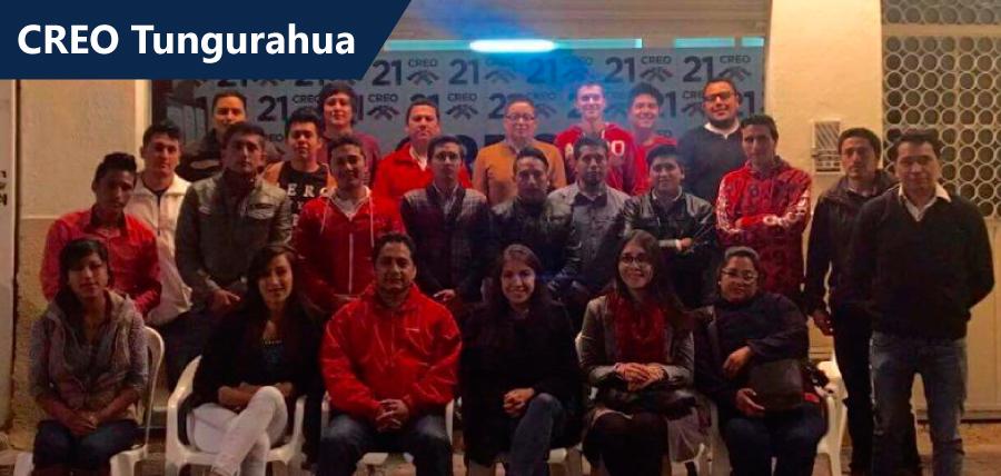 Estructura territorial de Tungurahua lista para el inicio de campaña
