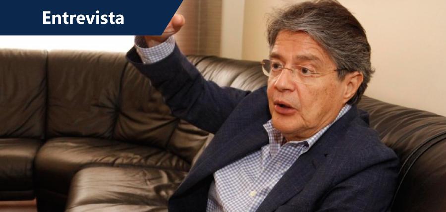 """Guillermo Lasso: """"No temo ir preso. Es una nueva fase de represión"""""""