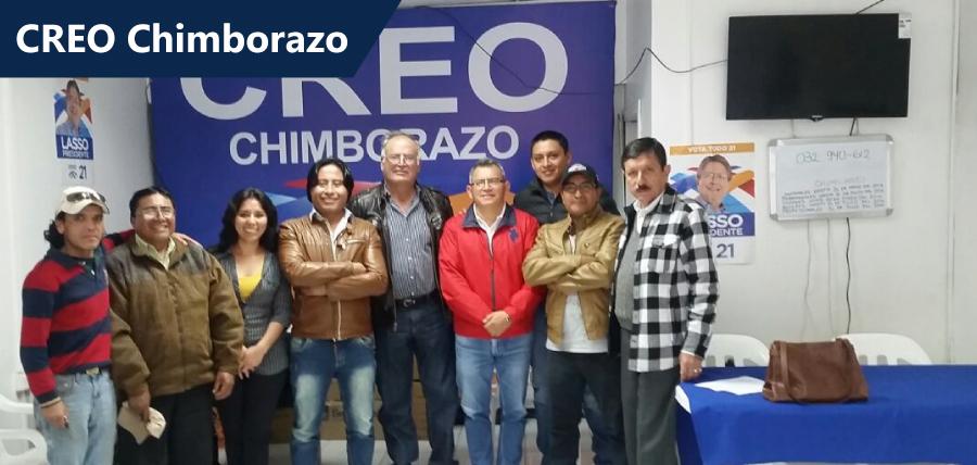 Directiva de Chimborazo trabaja en los comités barriales