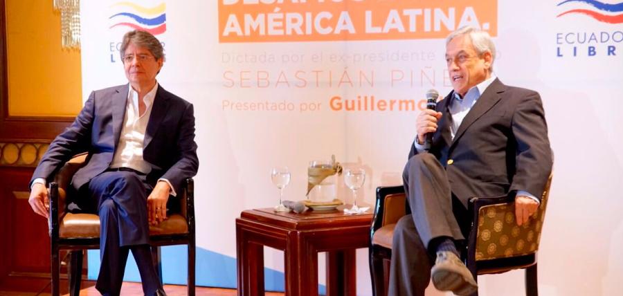 Lasso y Piñera hablaron sobre  empleo y Libertad