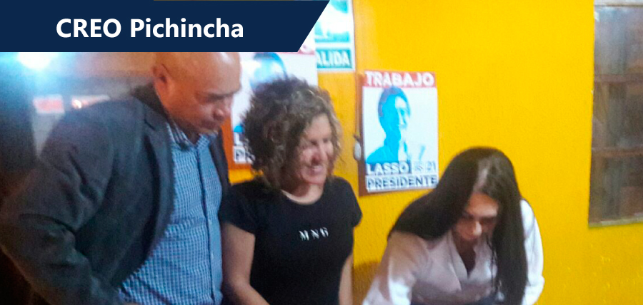 Pichincha arranca con fuerza en el control Electoral