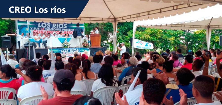 Los Ríos fortalece su trabajo en cada rincón de la provincia
