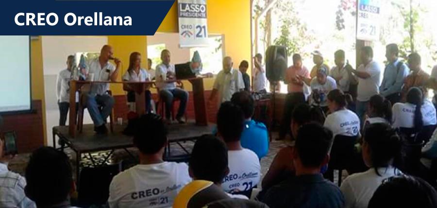 Encuentro de Estructura Territorial en Orellana