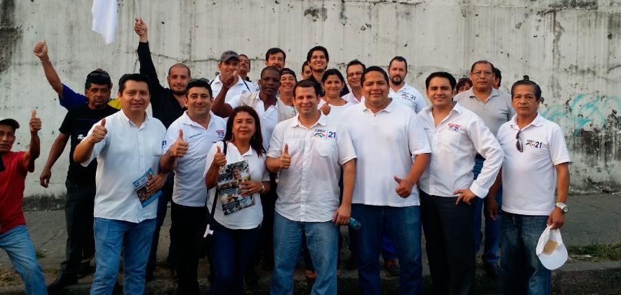 CREO Guayas llevó el mensaje de cambio y oportunidad a Mapasingue