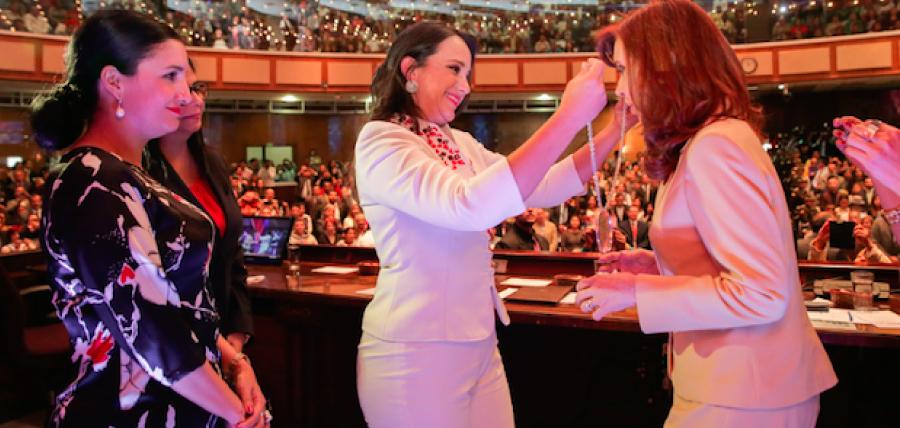 Directivas de CREO en el exterior rechazaron la  condecoración de presidenta argentina