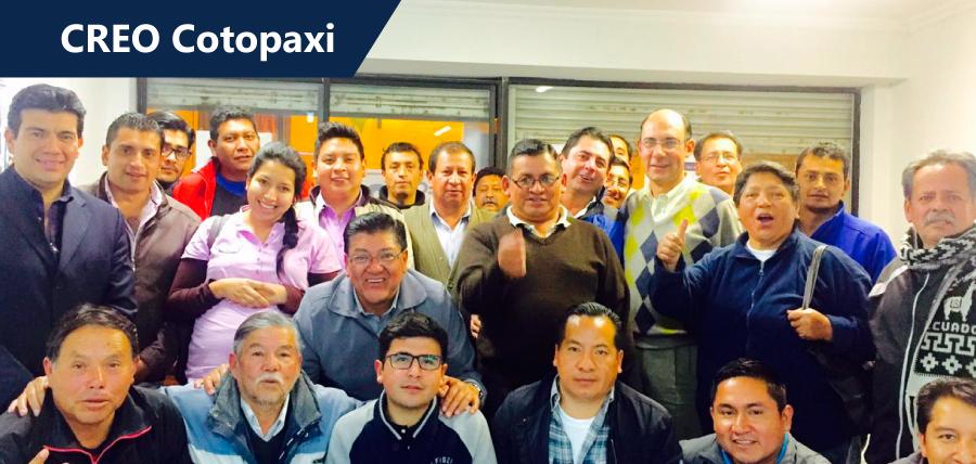 Estructura de Cotopaxi lista para iniciar el recorrido hacia Carondelet