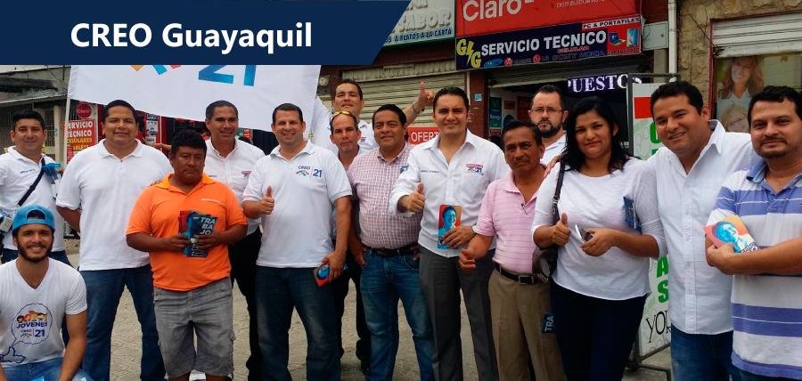 CREO Guayaquil recorrió sector de Florida Norte
