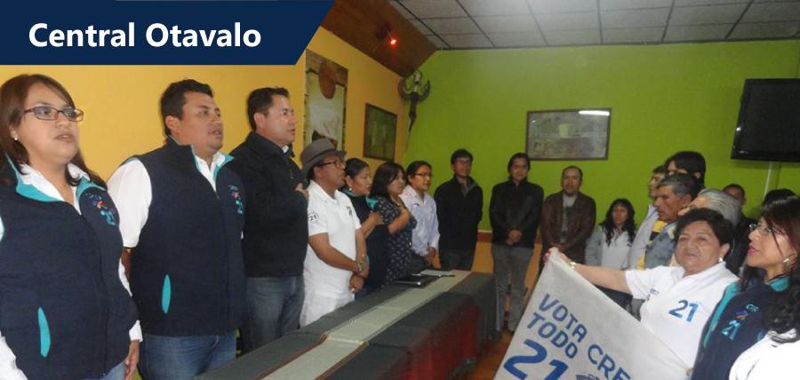 Otavalo cuenta con nueva central política