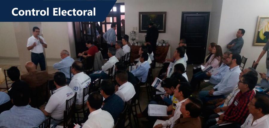 CREO se prepara para el control electoral