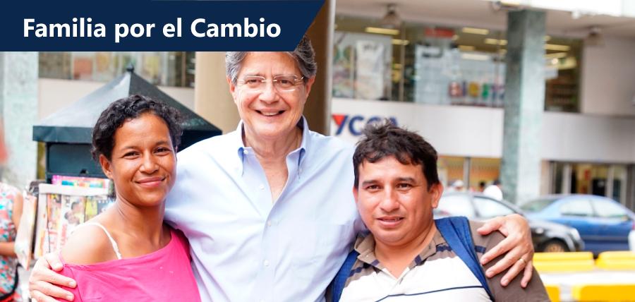 """Lasso presenta la iniciativa """"Familias por el Cambio"""" para garantizar la defensa del voto"""