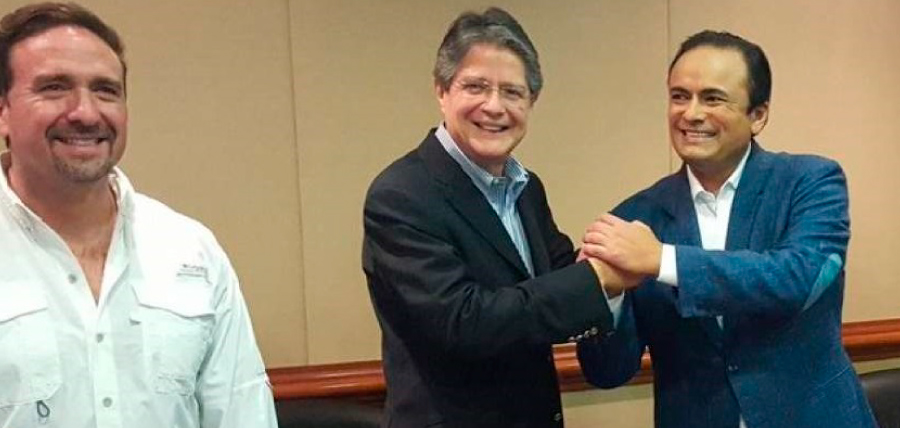 Carrasco apoya candidatura de Guillermo Lasso