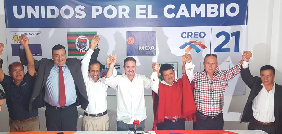 Siete nuevos movimientos respaldarán políticamente a Lasso