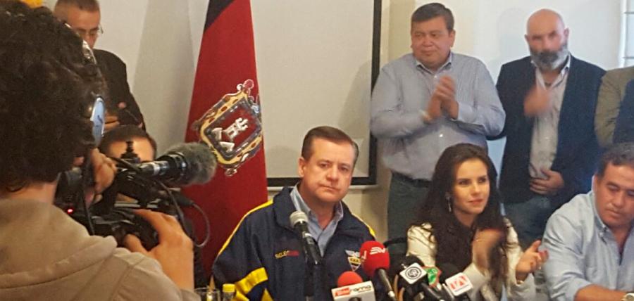 Lasso visita a Páez y agradece su apoyo electoral