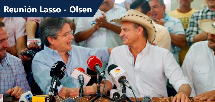 Lasso y Olsen acercan posiciones con miras a rescate del sector agrícola nacional