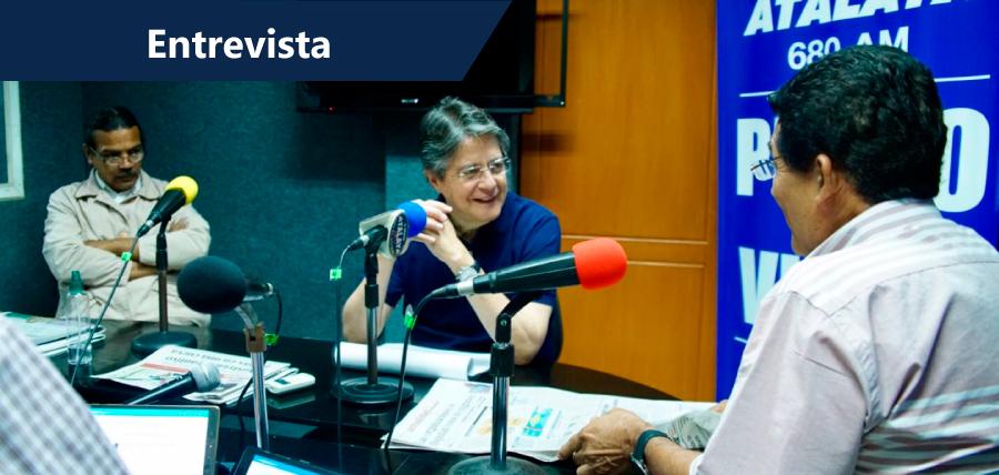 Lasso invita a Moreno a un debate