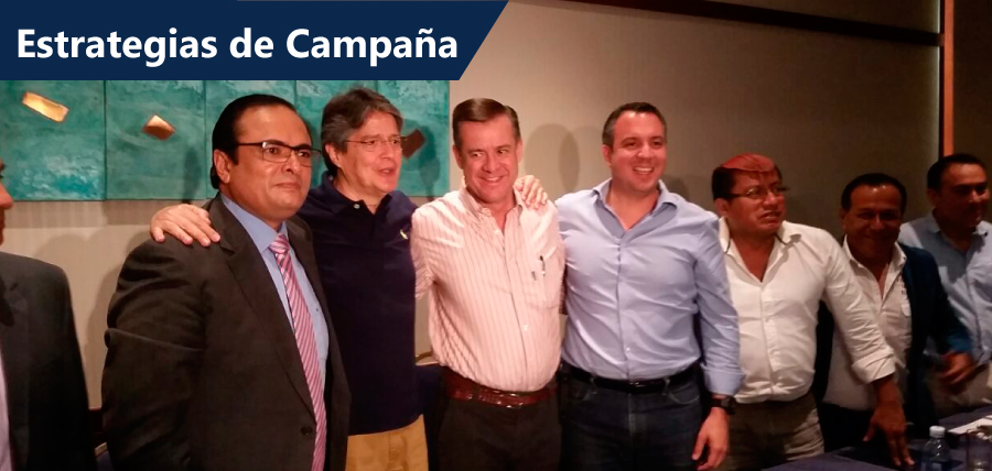 Guillermo Lasso y la Unidad por el Cambio planificaron estrategias de campaña