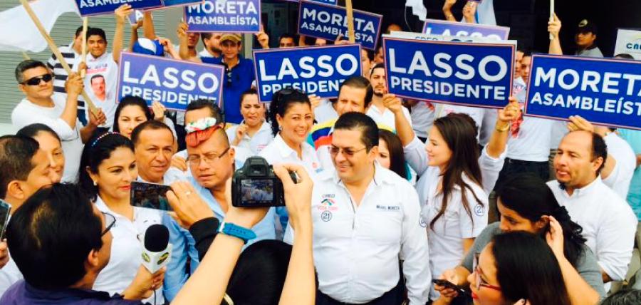 Santo Domingo y Morona Santiago inscribieron candidatos