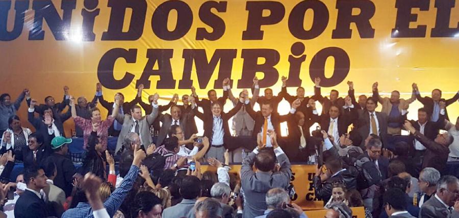 Los Fundadores y Miembros de la Izquierda Democrática confirman su apoyo a Guillermo Lasso