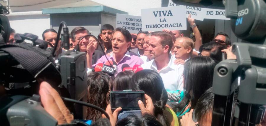 Unidad por el Cambio presentó apelación en defensa de la candidatura de Fernando Villavicencio
