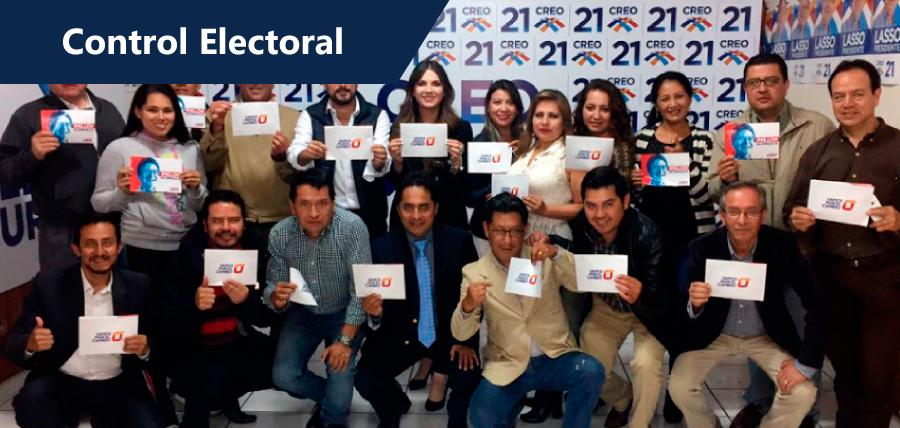 La Unidad por el Cambio trabaja en control electoral
