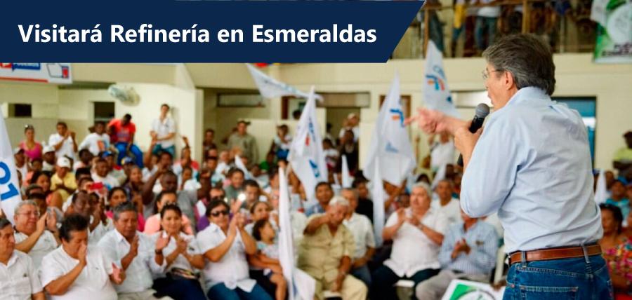 Lasso visitará el Domingo a los trabajadores despedidos en Esmeraldas