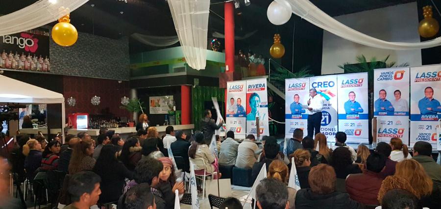 Candidatos de la alianza CREO 21- SUMA 23 recorren  Europa