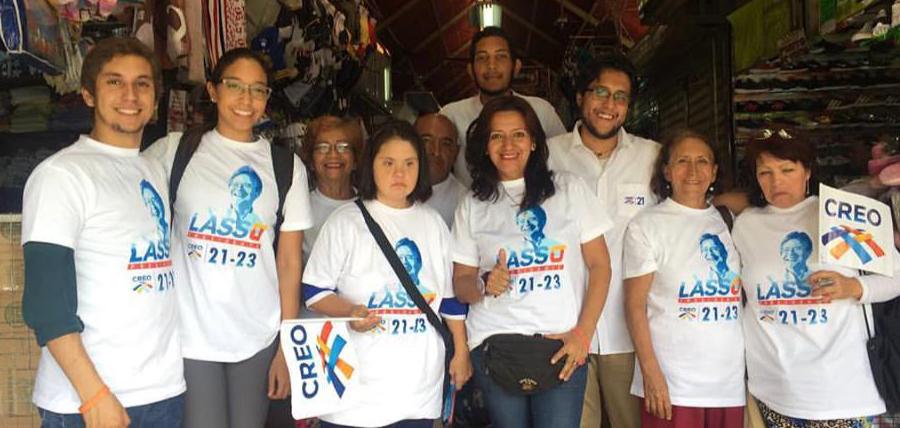 Candidatos América Latina llevaron el mensaje de Cambio a Venezuela
