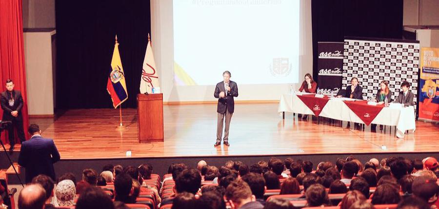 Lasso proyecta 1 Millón de Empleos con Jóvenes Universitarios
