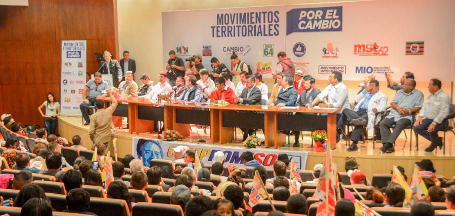 16 Movimientos Políticos se unen con Lasso por 1 Millón de empleos